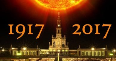 Secular Report: Mystic who Foretold of Trump Presidency Says WWIII will Start on October 13, 2017 – The 100 Year Anniversary of The Fatima Miracle of the Sun – Just Weeks Away