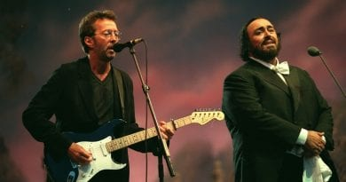 "Eric Clapton and Luciano Pavarotti's  Mournful Cry for the ""Holy Mother"""