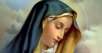 Why is the Blessed Virgin Mary always wearing blue?