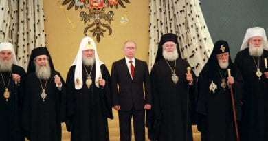 Putin: It is impossible to imagine Russia without Christianity