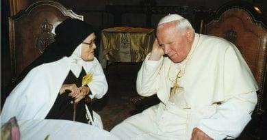 "Sign of the Times -Are Pope John Paul II's Prophetic Visions – His ""Dialog"" with the Virgin Mary – Unfolding? ""Islamic Invasion and The war will not be between religions, but between atheists and believers."