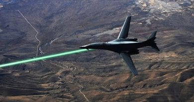 RUSSIAN MILITARY JETS TO HAVE LASERS
