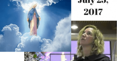 """Monthly Message for the World from Medjugorje """"Be a reflection of God's love for all those who are far from God"""""""