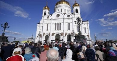 "Catholic Prophecy – The Mysterious Rise of Christianity in Russia – Washington Post ""Why more than a million Russians have lined up to see a relic of Saint Nicholas"""