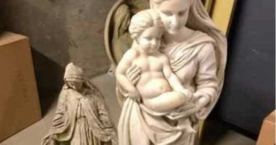"Catholic School Caves to ""Tyranny of the Offended"" … Pitches Statue of Virgin Mary with Baby Jesus into basement."