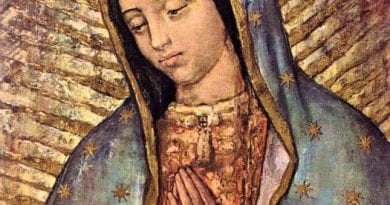 "Scientists have called the image of the Virgin of Guadalupe ""Living""…""Mary's retinas, when exposed to light – similar to the human's eye – expand and contract."""