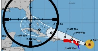 """Mean Cat Irma: """"No Mercy"""" """"Total Carnage""""…Luxury yachts wrecked and beach front homes smashed to pieces"""""""