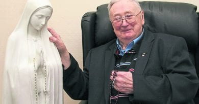 "Rosary Beads From Medjugorje Placed around Neck of Statue Cures Man Confined to Wheelchair for 10 Years – Begins to Walk ""Immediately"""