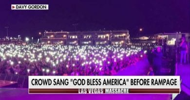 "Emotional Video:  Las Vegas Crowd Sings ""God Bless America""  One Hour Before Shooting Horror"
