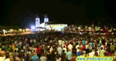 Nothing More Hopeful for the Future of This World Than Medjugorje Youth Adoration Beautiful Video