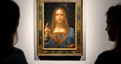 """Unimaginable discovery"": Long-lost da Vinci painting of ""Savior of the World"" to fetch at least $100 million at auction. ""Standing in front of that painting was a spiritual experience. It brought tears to my eyes"""