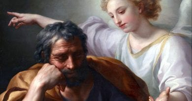 "St. Joseph was more than ""righteous""; he was courageous"