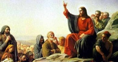 Monday 8th January 2018 Today's Holy Gospel of Jesus Christ according to Saint Mark 1:7-11.