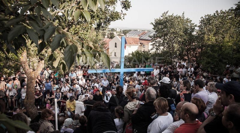 Amen! One Million Tourists visited Medjugorje last Year