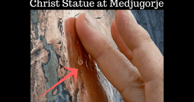 "Powerful – No Explanation for Miracle of Christ Statue at Medjugorje – Almost 1,000,000 Views… Convincing Visual evidence at minute 2:25 ""I would not have believed it if I had not seen it with my own eyes, touched it with my own hands"""