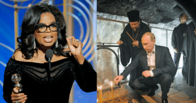 """As Hollywood and Oprah Push for """"Values of the Day"""" Putin Hails 'Eternal Christian Values' at Christmas Celebration"""