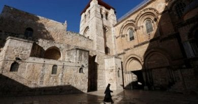 Protest: Jerusalem Christians Unite … to Close Church of the Holy Sepulchre..Sad Times