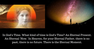 "Eternity and the Stars:  How long is forever?  Jesus explains ""the unchangeable Time of Heaven"" to Maria Valtorta."