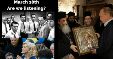 "Tomorrow is Mirjana's Birthday and the Mysterious Apparition of March 18 : ""When the secrets begin to unfold the significance of the date will be clear.""  *RUSSIA PRESIDENTIAL ELECTION TAKES PLACE MARCH 18*  FATIMA – MEDJUGORJE CONNECT"