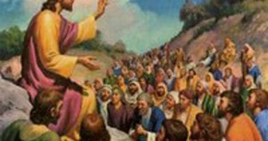 Wednesday 7th March 2018… Today's Holy Gospel of Jesus Christ according to Saint Matthew 5:17.19.