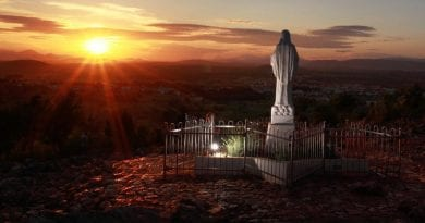 "Medjugorje Reminds Us of the Gospel Passage ""Matthew 21:42"""