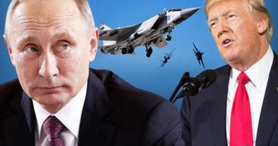 "Washington on Alert…Russia Issues Fiery Threat.. Trump to Issue Big Statement…Politico ""Is it time to be scared?"""
