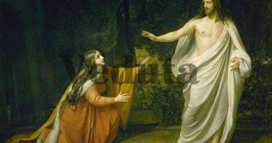 Saturday 7th April 2018…Today's Holy Gospel of Jesus Christ according to Saint Mark 16:9-15.