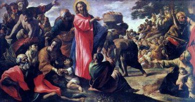 Friday 13th April 2018…Today's Holy Gospel of Jesus Christ according to Saint John 6:1-15.