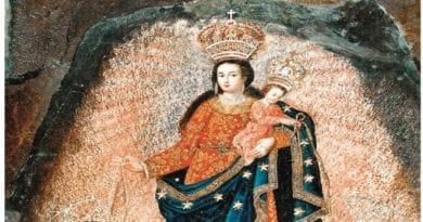 """Painted by angels from Heaven"" …The Great Rock Miracle of Our Lady of Las Lajas.  Truly a Wonder of the World"