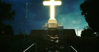 Medjugorje. The blessed and little known history of the great cross overlooking Mount Krizevac