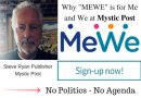 "The Next Gen Social Media App..""MEWE ""No politics – no agenda""  …Not Sure Facebook is Friendly to People of Faith Anymore"