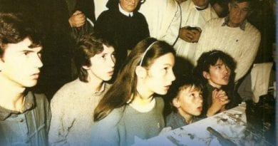 "Medjugorje: Six children go to their knees in prayer and in an instant change the world forever.   ""That trip in 1981 and those kids in ecstasy I'll never forget"""
