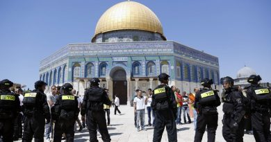 BIBLICAL SIGNS: Jerusalem Day: Israelis clash with Palestinians on Temple Mount ahead of charged week (With video)