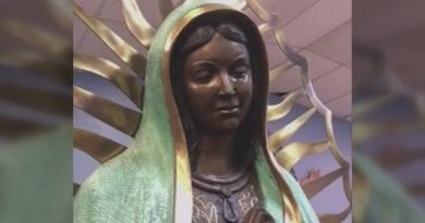"Our Lady of Guadalupe Statue Weeps for the World  in New Mexico..Hundreds witness ""It is a miracle, nothing short of a miracle,"" ..""You just get all jittery."""