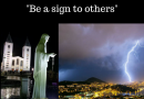 "Lighting and Thunder Between the hills Over Medjugorje Before Apparition:  Special Message from Our Lady to Ivan May 4th 2018  ""Be a sign to others"""