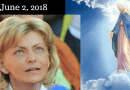 "Medjugorje: June 2, 2018 Message to Mirjana:  ""A joy—a light indescribable in human words—will penetrate your soul and the peace and love of my Son will take hold of you"". …but  ""My heart is sad"""