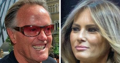 Melania Trump Calls Secret Service after Hollywood Actor Peter Fonda Calls FOR BARRON TRUMP TO BE KIDNAPPED and Put in CAGE WITH PEDOPHILES