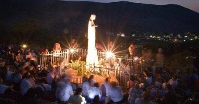 We must abandon ourselves to Divine Providence, for some time Our Lady asks us to Medjugorje.