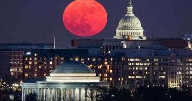 Friday's total lunar eclipse will be longest blood moon visible this century, until 2123