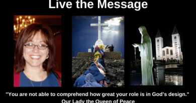 "Live the Message by Debbie Womack: ""You are not able to comprehend how great your role is in God's design."""