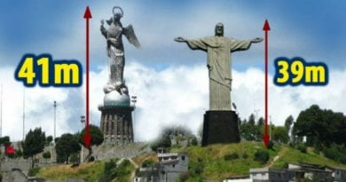 The Incredible Statue of Our Lady of the Apocalypse that surpasses that of Christ the Redeemer
