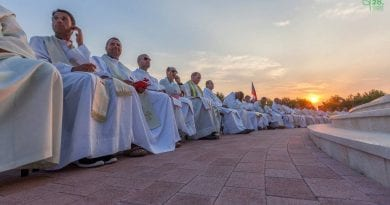A Triumph for Our Lady in Medjugorje and the World is set to respond to Her Call. With 1 Million viewers of Live Streaming and the Vatican Present along with 485 Priests at the Festival a Special Spiritual Power Was Everywhere