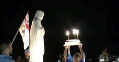 Love this photo!!!…Happy Birthday Mama Mary. We can celebrate today August 5 AND September 8 :)
