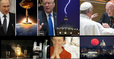A World On Fire ….World War 3 fears: Russia threatens to move  NUCLEAR WEAPONS to Syria  Near Israel As Calls for Pope Francis to resign over abuse cover up intensify