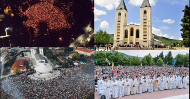 Medjugorje Youth Festival 80,000 Strong, Papal Envoy in Attendance Almost 1,000 Priests…Media Ignores Largest Catholic Gathering in Europe