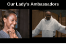 """Two of Mystic Post's Favorite Catholic Heroes… Fr. Leon's Extraordinary Encounter with the Virgin Mary as Told by Immaculee….  """"I am your Mother and the Mother of God. I want you to tell everyone you meet that I am their Mother and I love them.""""…"""
