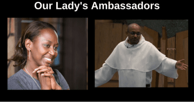 "Two of Mystic Post's Favorite Catholic Heroes… Fr. Leon's Extraordinary Encounter with the Virgin Mary as Told by Immaculee….  ""I am your Mother and the Mother of God. I want you to tell everyone you meet that I am their Mother and I love them.""…"
