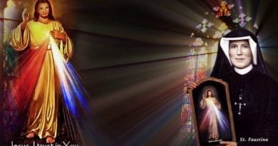 """Saint Faustina Kowalska Face to Face with Jesus…Saint Sees Her Soul … """"I wanted to throw myself immediately into the flames of Purgatory, but Jesus held me back"""""""