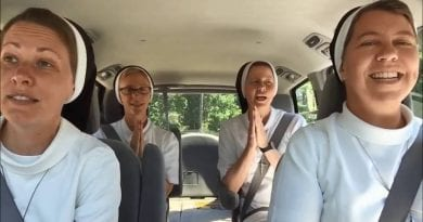 This Made My Day.. Good Chance It Will Make Yours. Carpool Karaoke With Nuns from the Apostles of the Sacred Heart of Jesus