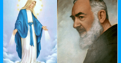 """The beautiful prayer by Padre Pio to the Virgin Mary!….Offers a """"shortcut"""" to Heaven."""".A sea through which the shores of eternal splendor are reached"""""""